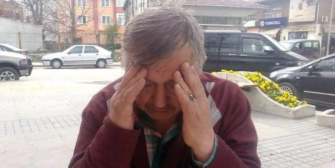 Dolandırılan yaşlı adam gözyaşlarına hakim olamadı