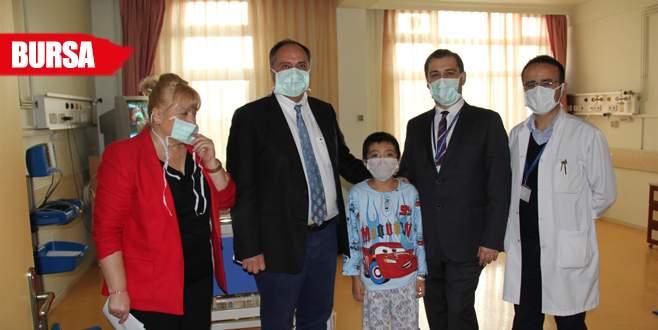 Kırgız çocuk Bursa'da hayat buldu!