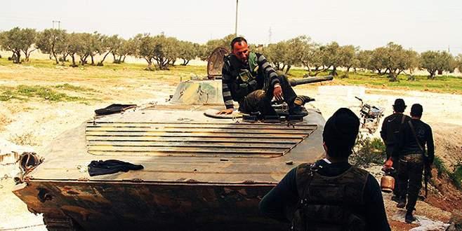 Fetih Ordusu İdlib'i aldı
