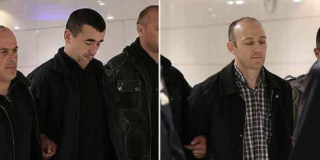 'Böcekçi' polisler Türkiye'ye getirildi