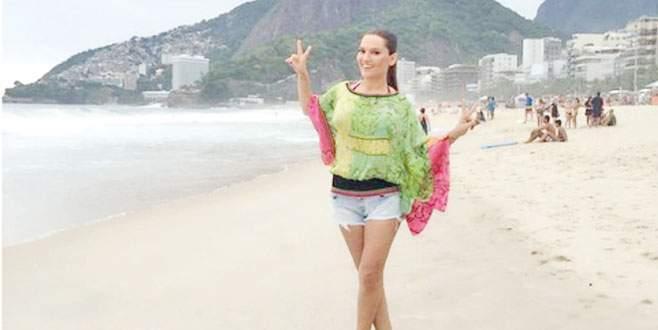 Brezilya'da klip çekti