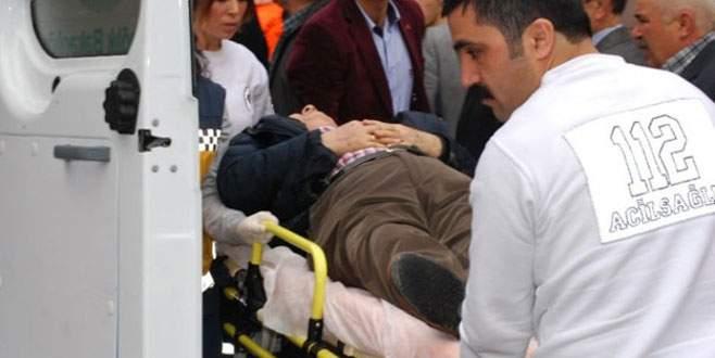 Sandıkta kalp krizi geçirdi, hastanede öldü
