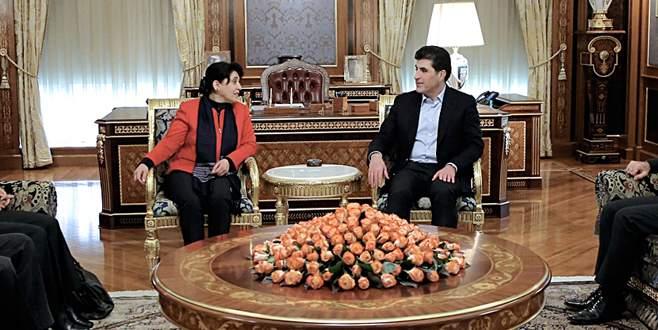 Öcalan'ın mesajı Barzani'de