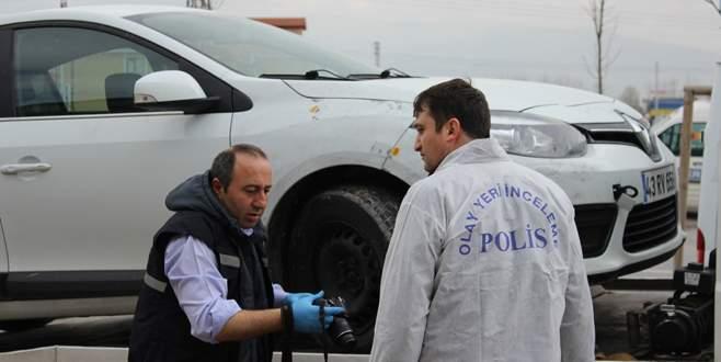 Arızalanan otomobilde bomba bulundu