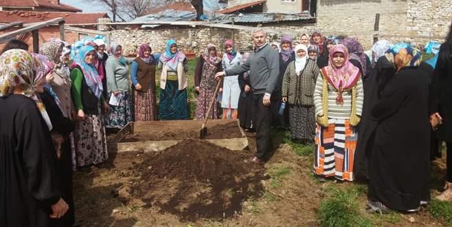 Orhaneli'nde kadın çiftçilere eğitim