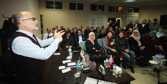Yılmaz: Osmangazi'de 50 mahalle konseyi kurduk