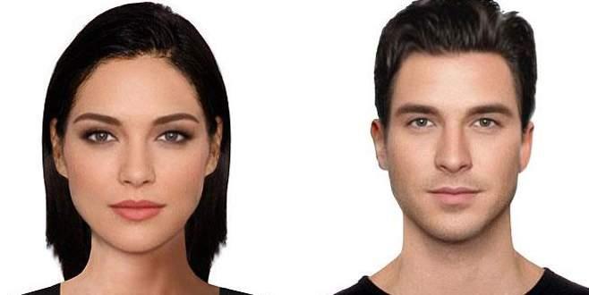 En güzel kadın ve erkek yüzü