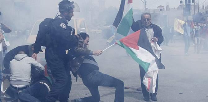 Filistin yürüyüşüne müdahale