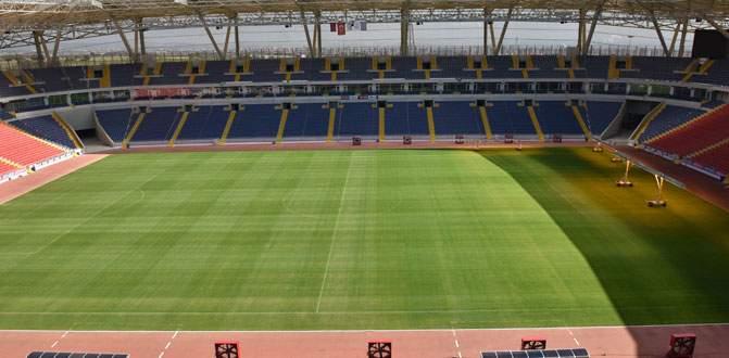 Mersin Stadyumu sınavı geçti