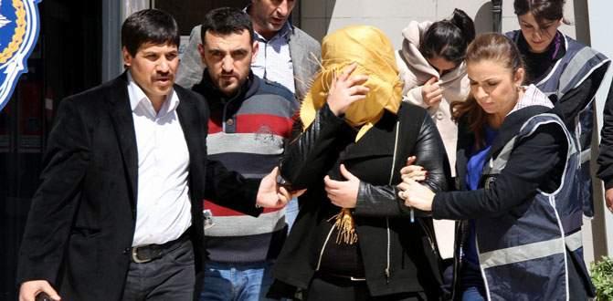 Bursa'da sahte kadın komiser operasyonu!