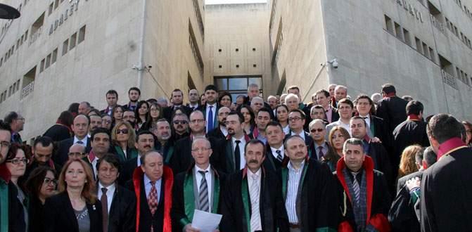 Bursa'da hukukçular Çağlayan'daki terör saldırısını kınadı