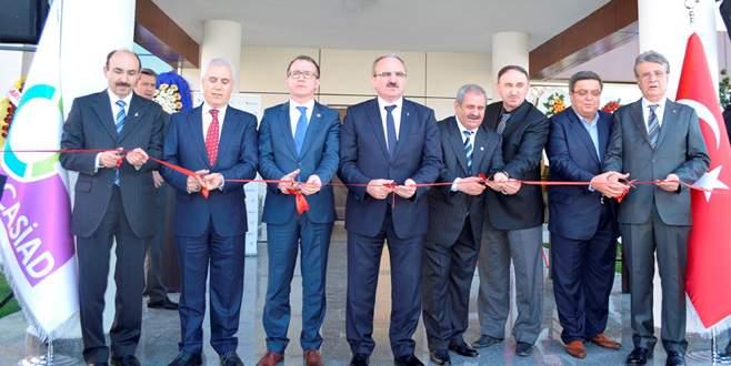 ÇASİAD hizmet binası açıldı