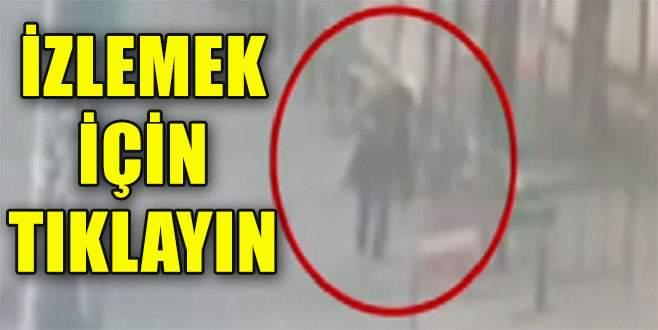 İşte kadın teröristin vurulma anı
