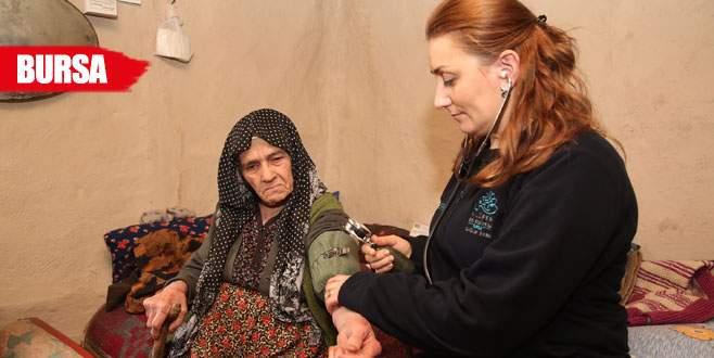 Nilüfer'de yaşlılara sağlık hizmeti