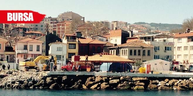 Mudanya Sahili'nde dönüşüm başlıyor