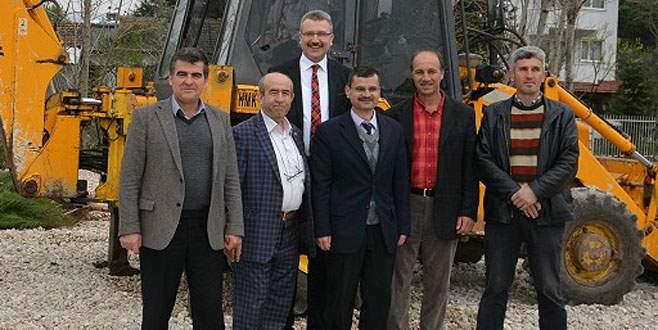 Başkan Özkan'dan köy ziyareti