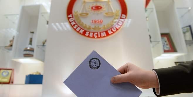 Partilerin oy pusulasındaki yerleri belli oldu