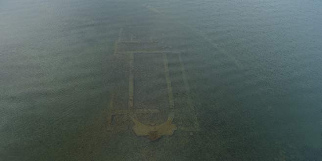 İznik Gölü'ndeki bazilika sualtı arkeoloji müzesi olacak