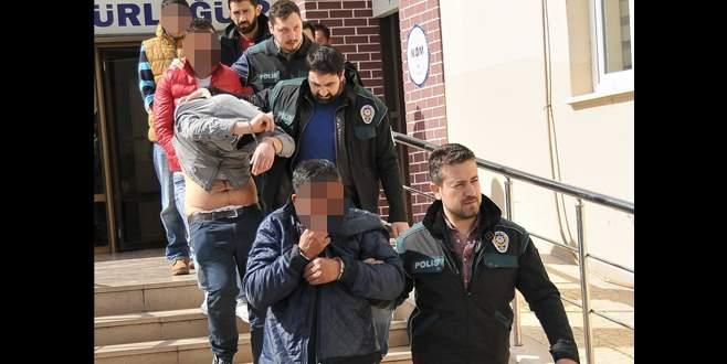 Bursa'da uyuşturucuya 10 tutuklama!