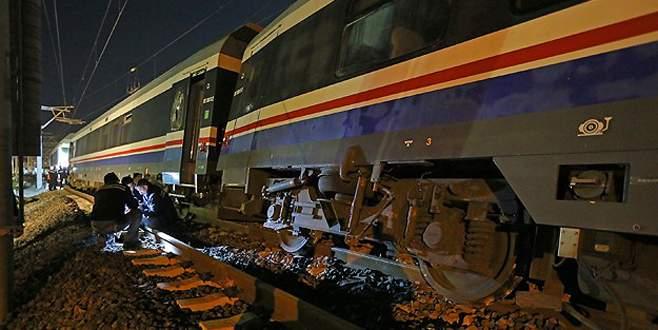 İzmir'de tren kazası!