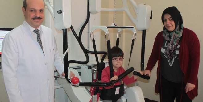 Robotik yürüme cihazı umut oldu