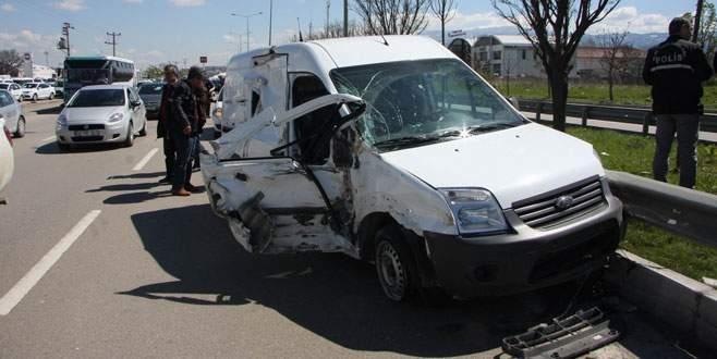 Bursa'da polis ekipleri ölümden döndü!
