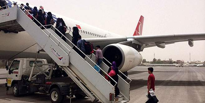 Yemen'den 185 Türk vatandaşı daha tahliye edildi