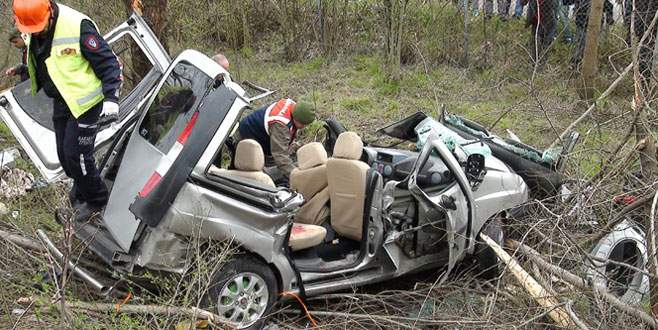 Korkunç kaza! 4 ölü, 4 yaralı