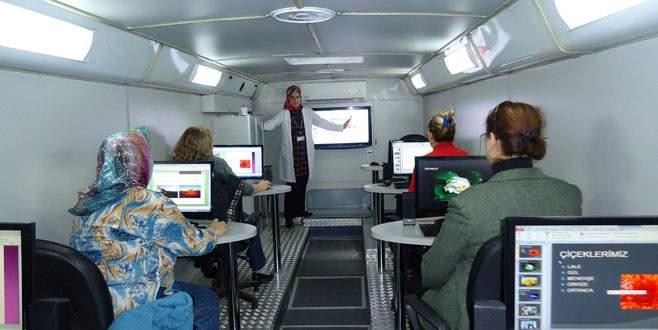 Mobil eğitim Orhangazi'de