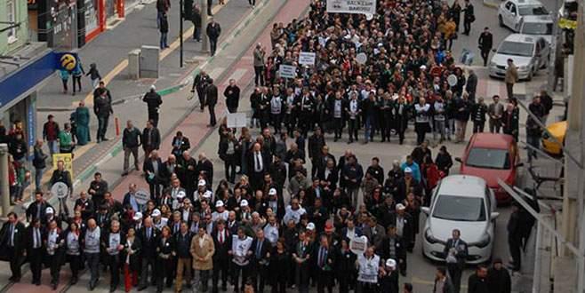 Avukatların yürüyüşü iptal edildi