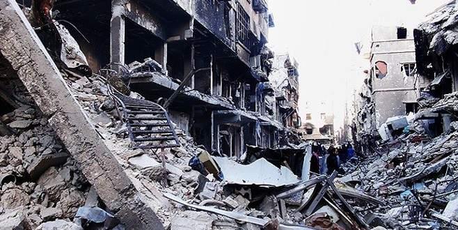 Yermuk kampına 'varil bombalı' saldırı