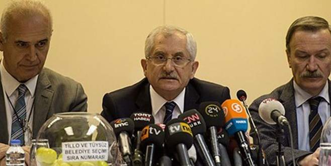 YSK Başkanı Güven'den 'jeneratör' açıklaması