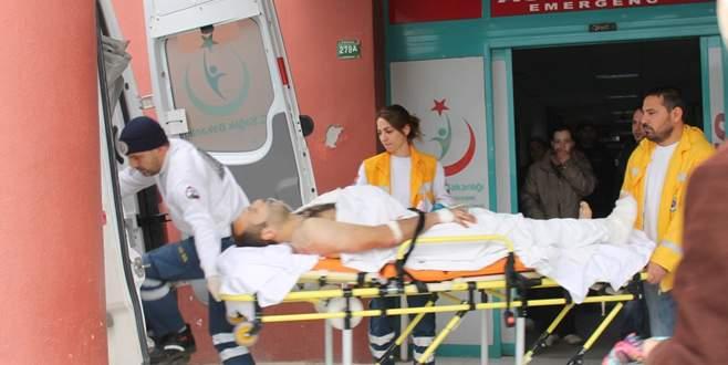 Kolunu ve bacağını testereye kaptırdı