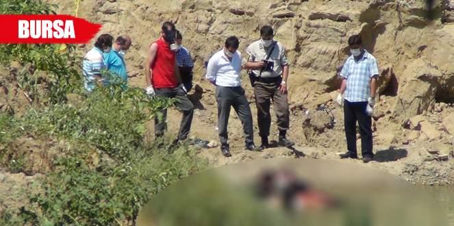 Bursa'da korkunç cinayet! Ayağına taş bağlayıp…