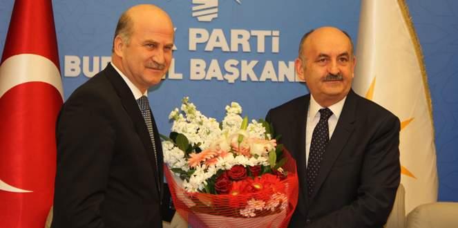 Bakan Müezzinoğlu seçim startını Bursa'dan verdi