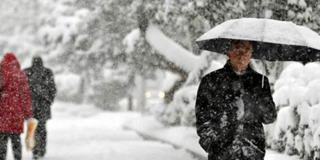 Bursa için kar yağışı uyarısı!