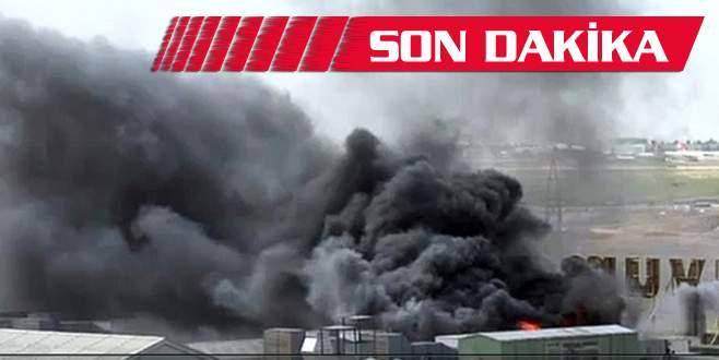 Altının başkentinde korkutan yangın!