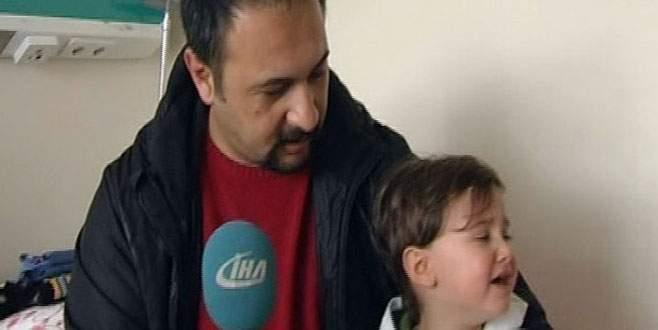 15 gün burnunda vida ile yaşadı