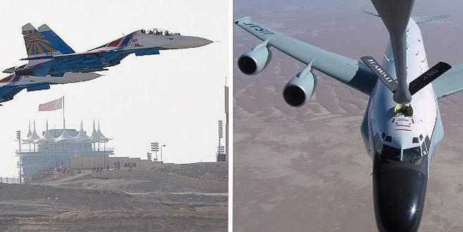 Rus jeti ABD casus uçağına çarpıyordu