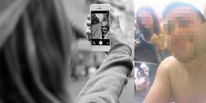 Kocaya 'çıplak selfie' şoku