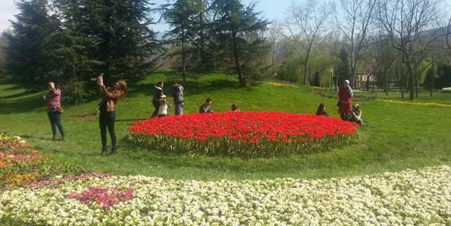 Bursalılar parklara akın etti!