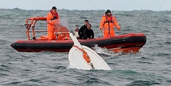 Marmara Denizi'nde balıkçı teknesi battı: 1 kişi kayıp