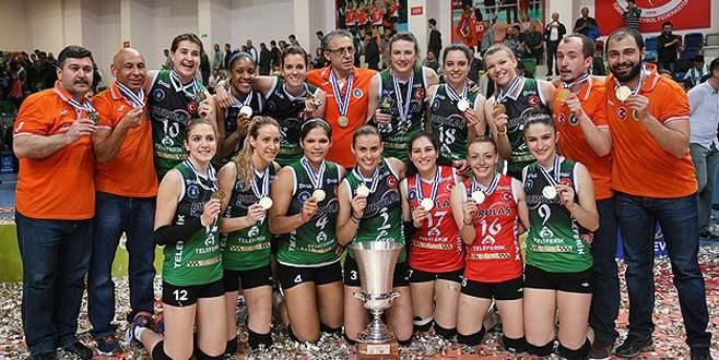 Bursa'nın Sultanları, Avrupa Şampiyonu!