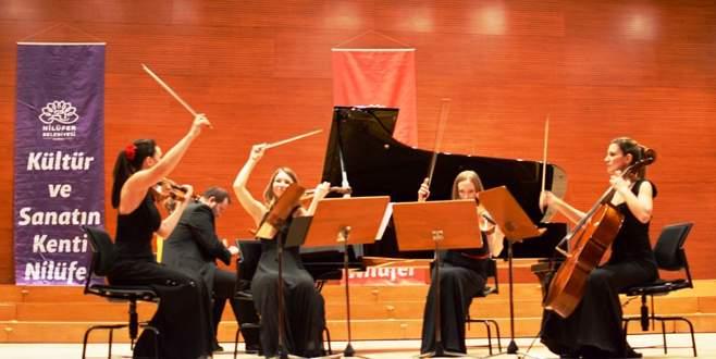 Nilüfer'de klasik müzik rüzgarı