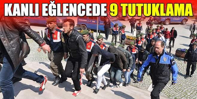 Bursa'da kanlı eğlencede 9 tutuklama