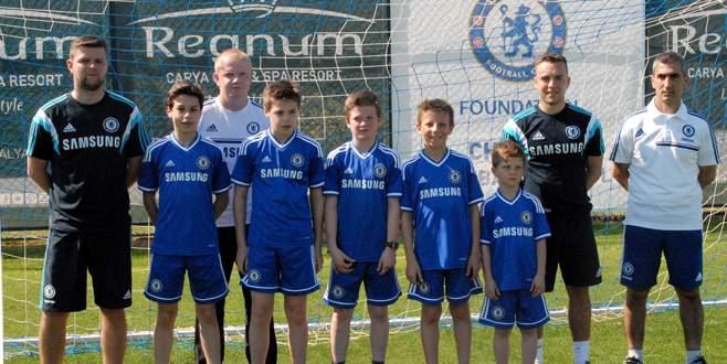 Chelsea'nin Antalya'daki futbol okulu tanıtıldı