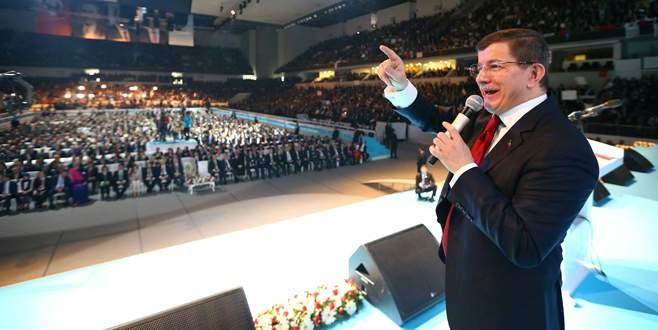 Davutoğlu AK Parti'nin seçim beyannamesini açıkladı
