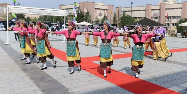 Nilüfer'de renkli turizm haftası kutlaması
