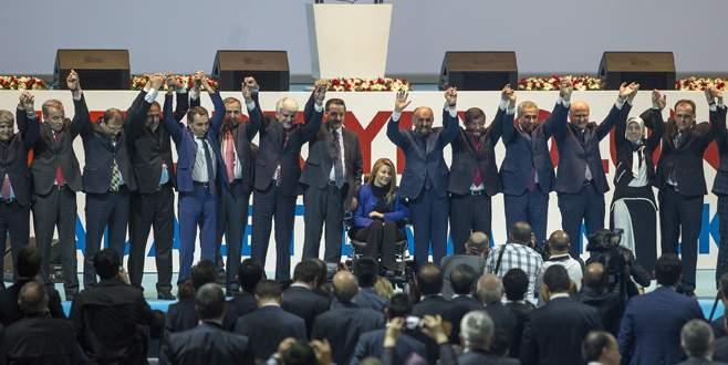 Bursa adaylarının güç birliği gösterisi