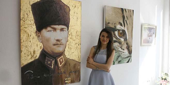 Genç ressamın Bursa çıkarması